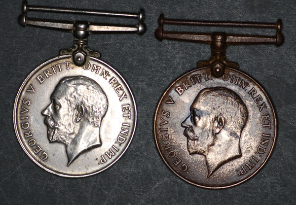 Mercantile Marine medal pair. Hitchens.