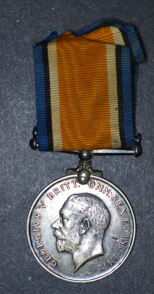 WW1. 1914-1918 silver war medal. Suffolk regiment/RE