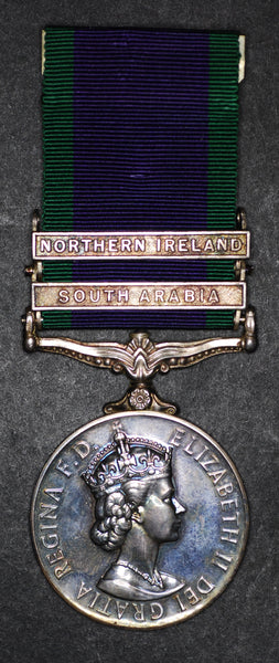 Campaign Service Medal. South Arabia & Northern Ireland.