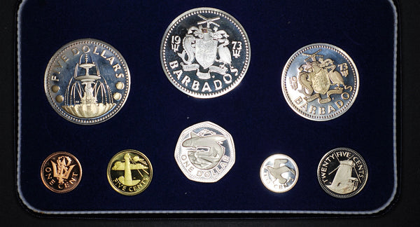 Barbados. Proof set. 1973