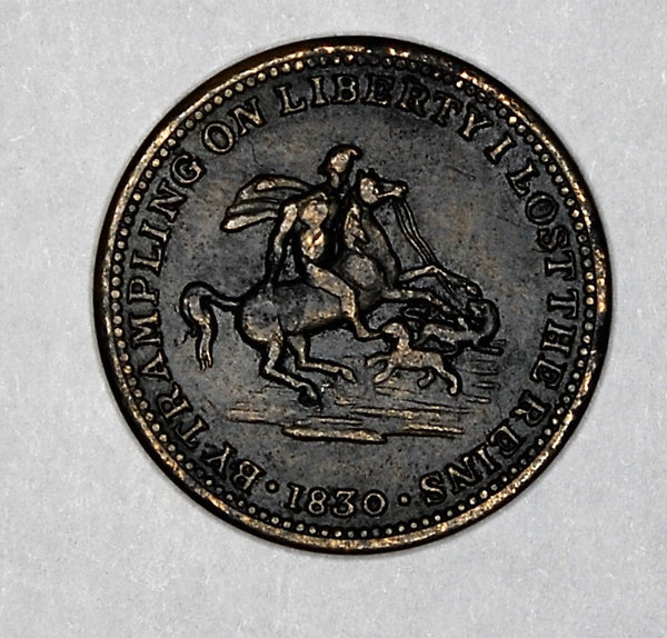 Earl grey medallion. 1830.