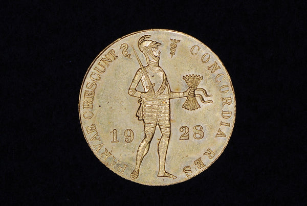 Netherlands gold ducat. 1928.
