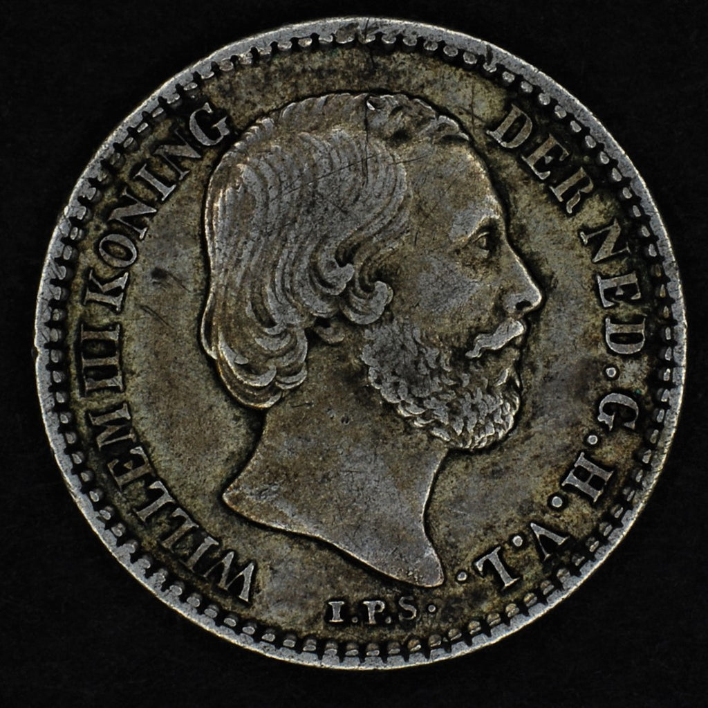 Netherlands. 10 cents. 1869