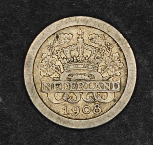 Netherlands. 5 cents. 1908.