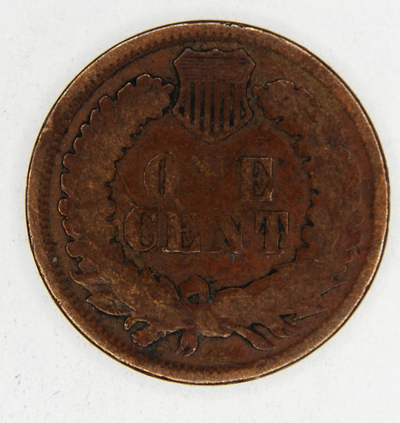 USA. One cent. 1864.