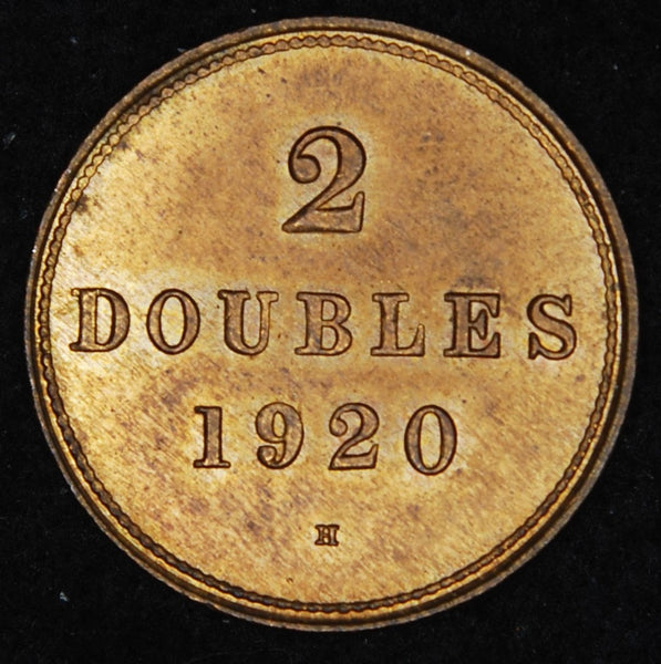 Guernsey. 2 Doubles. 1920H