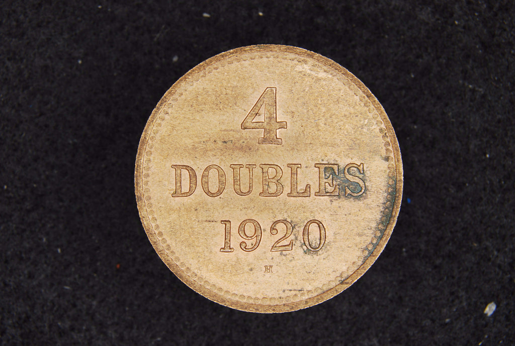 Guernsey. 4 Doubles. 1920H.