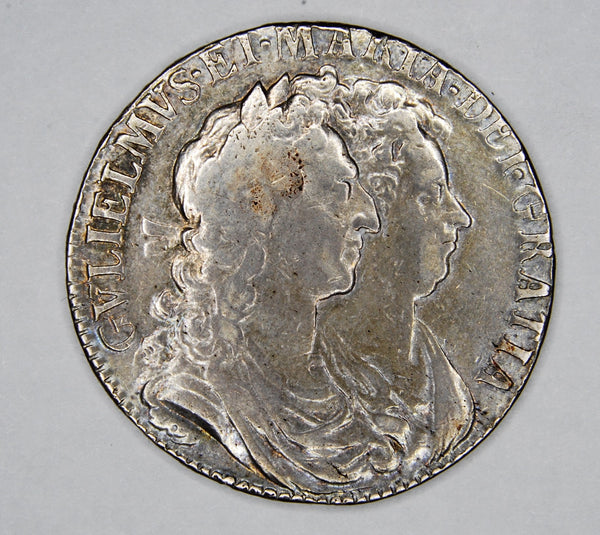William & Mary. Halfcrown. 1689.