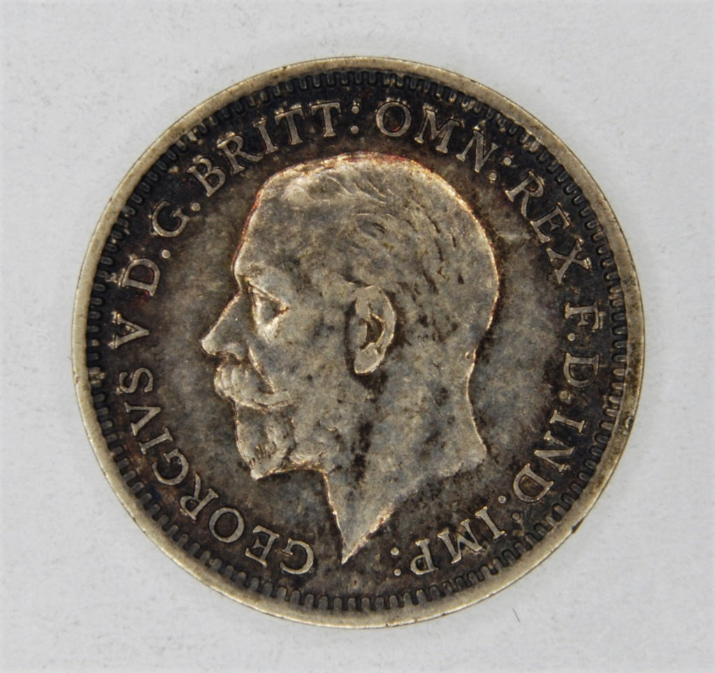 George V. Threepence. 1934.