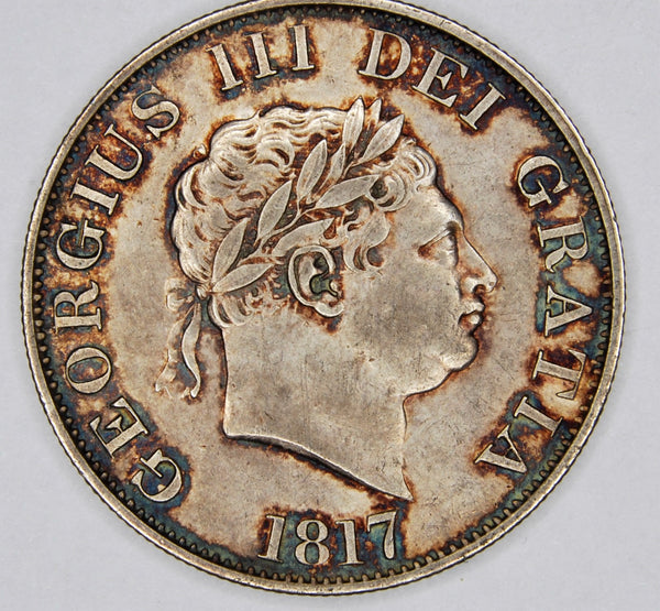 George III. Halfcrown.1817.