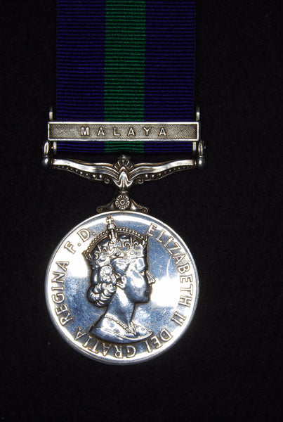 General service medal. 1918-62. Bar Malaya.
