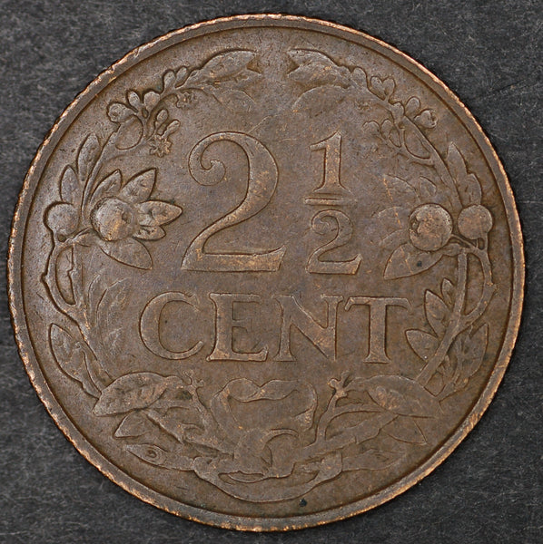 Curacao. (Dutch) 2 1/2 cents. 1948