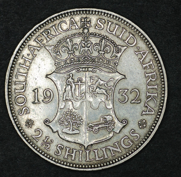 South Africa. Half Crown. 1932.
