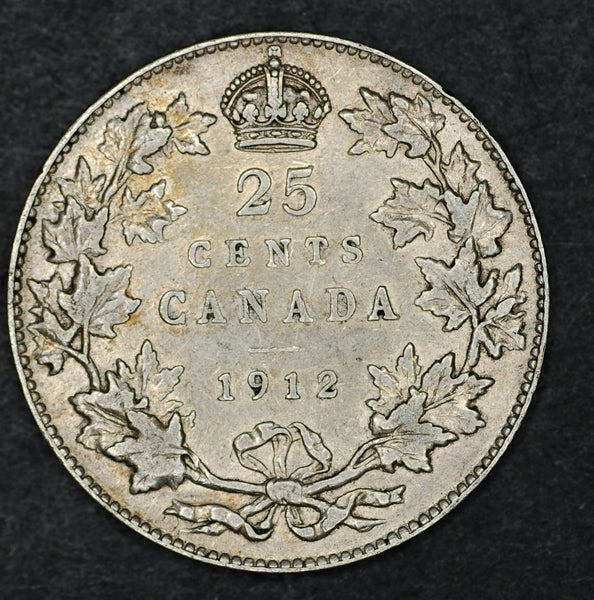 Canada. 25 cents. 1912