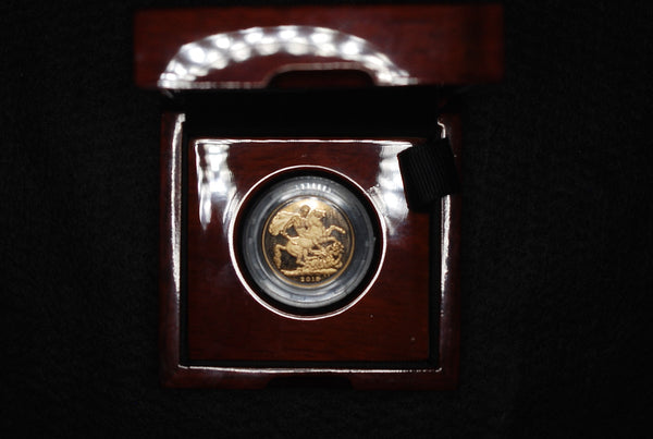 2015 proof sovereign 5th bust