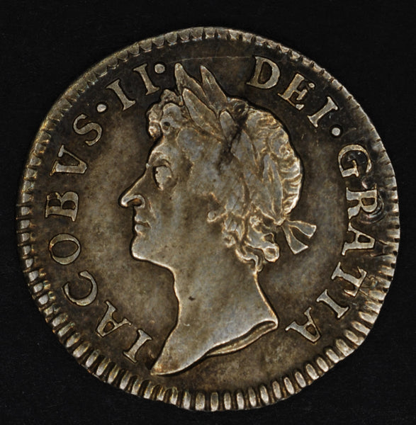 James II. Fourpence. 1688/7