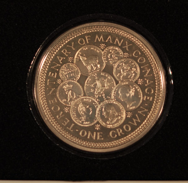Isle of Man. Crown. 1979. Silver proof.