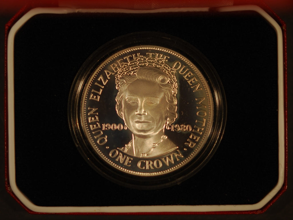 Isle of Man. Crown. 1980