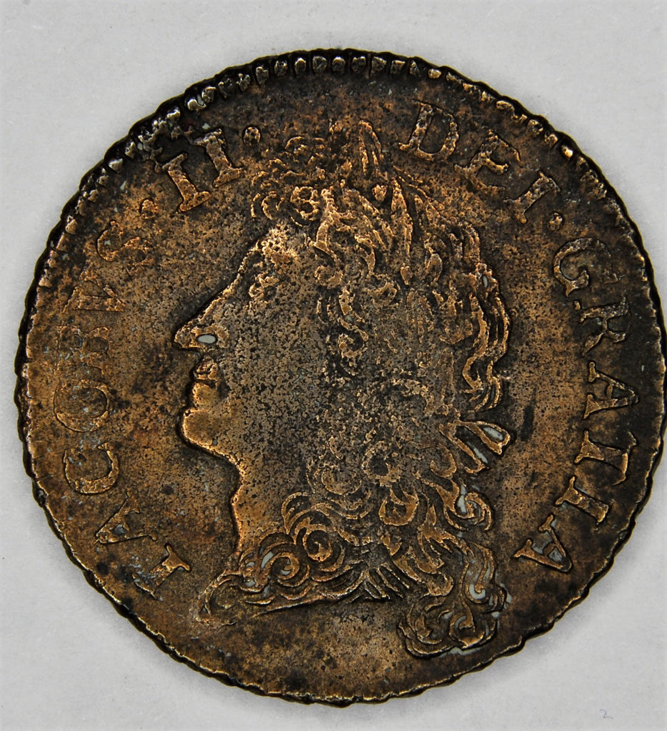 James II. Halfcrown. 1690.