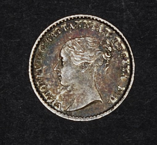 Victoria. Maundy penny. 1875