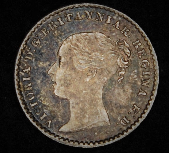 Victoria. Maundy penny. 1873.
