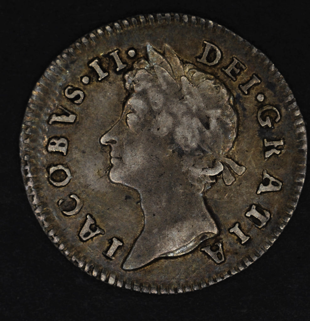 James II. Threepence. 1688