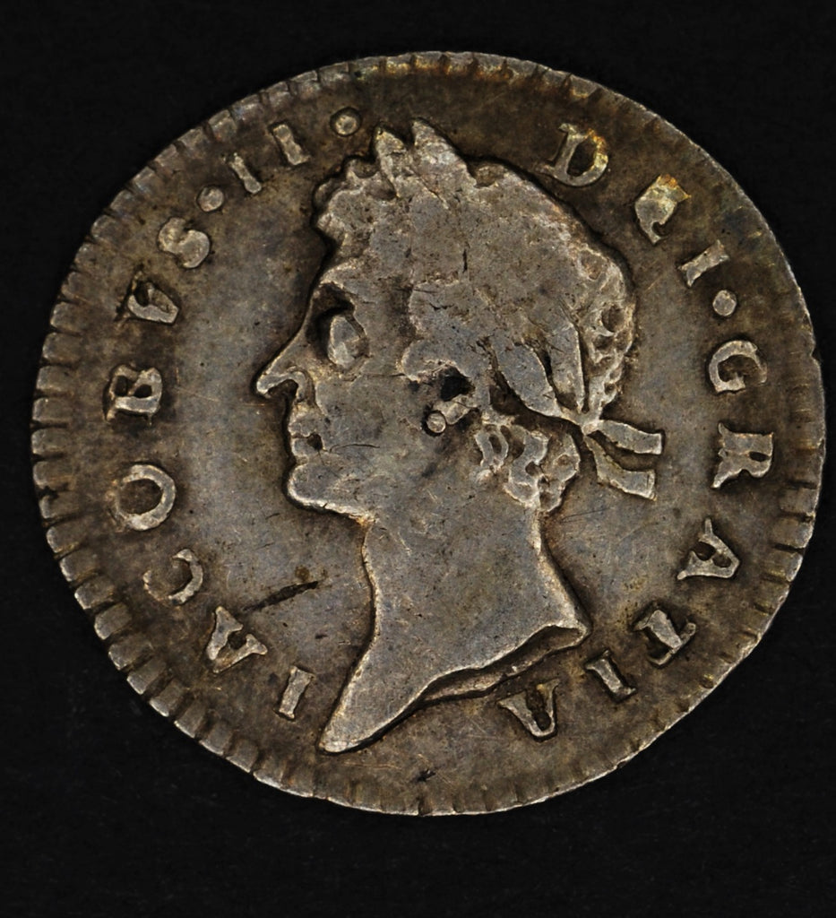 James II. Penny. 1688/7
