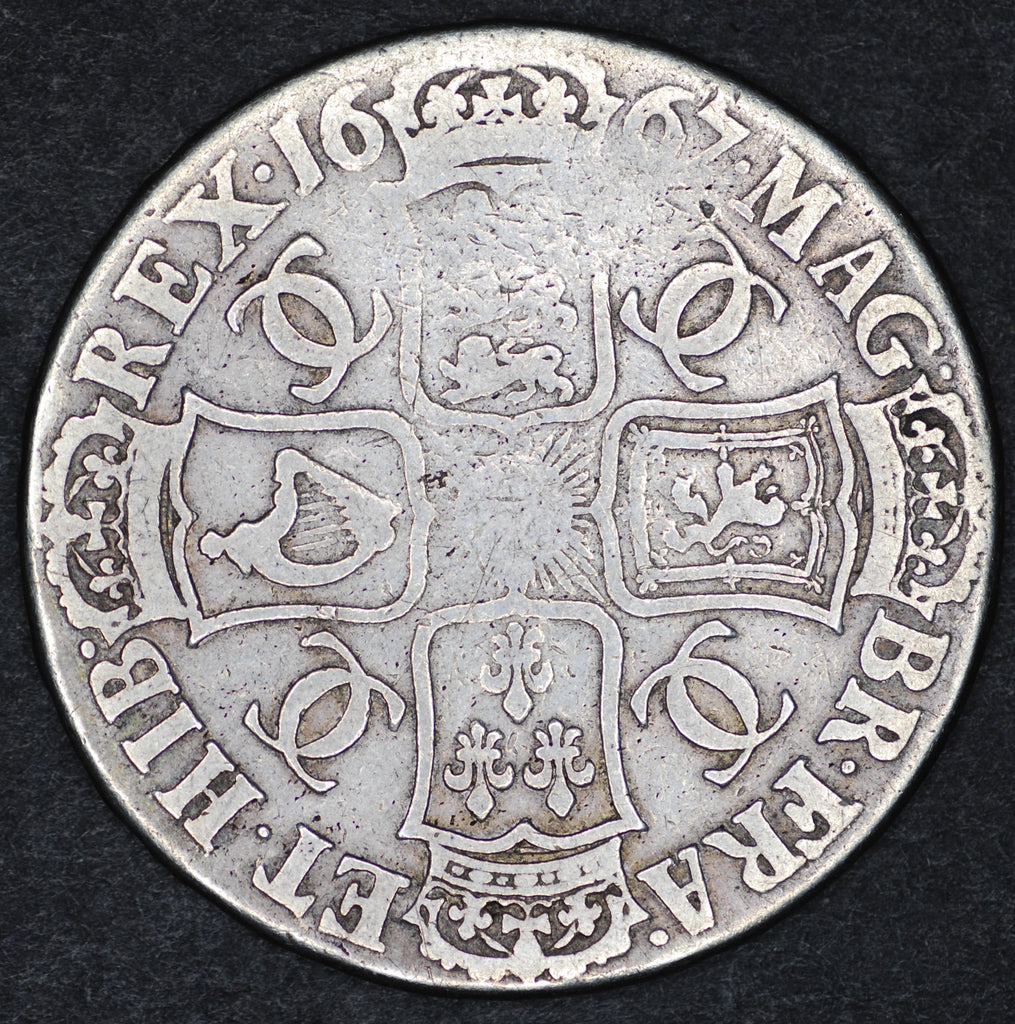 Charles II. Crown. 1667