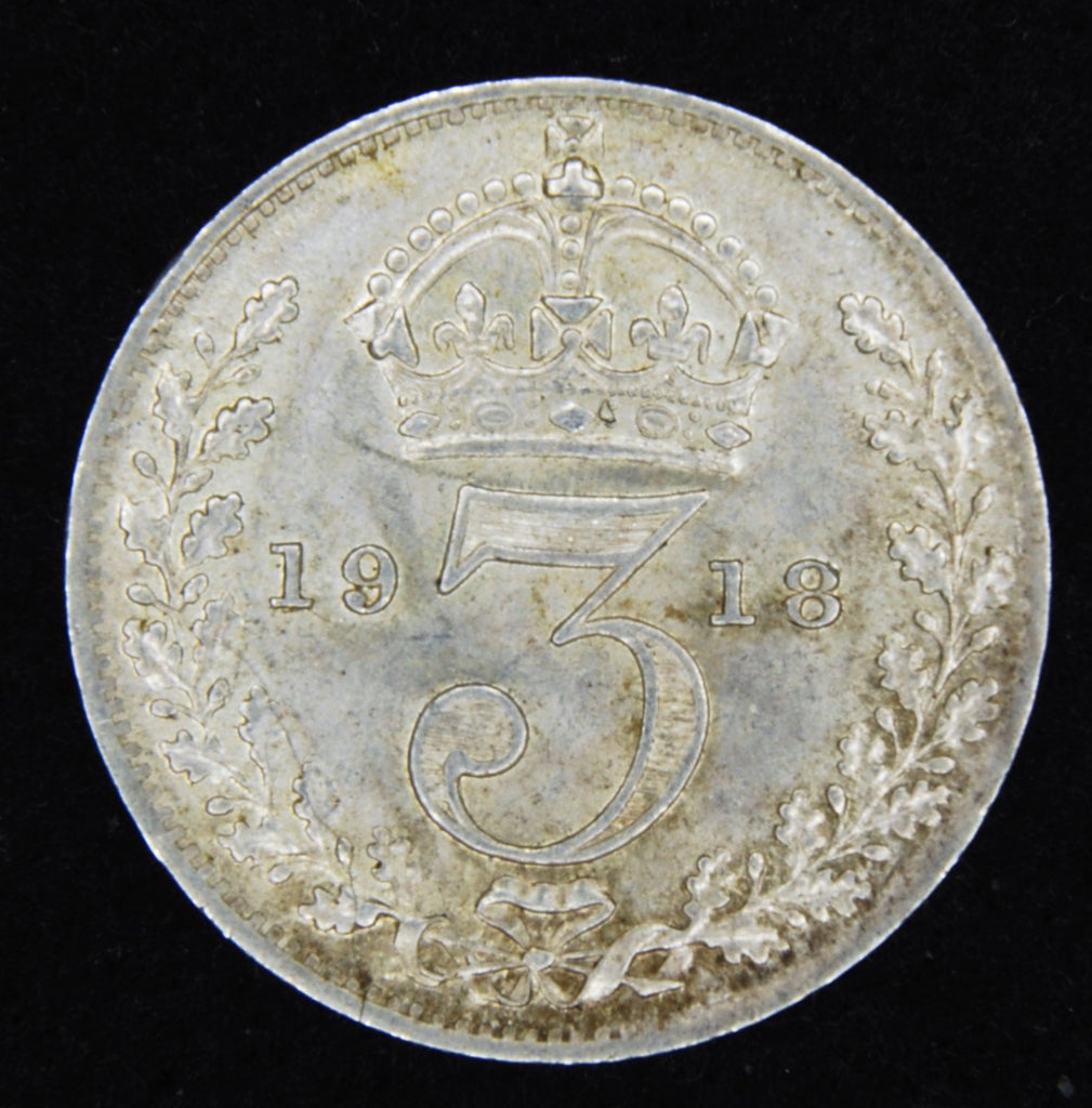 George V. Threepence. 1918