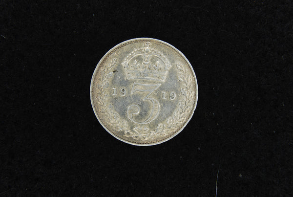 George V. Threepence. 1919.