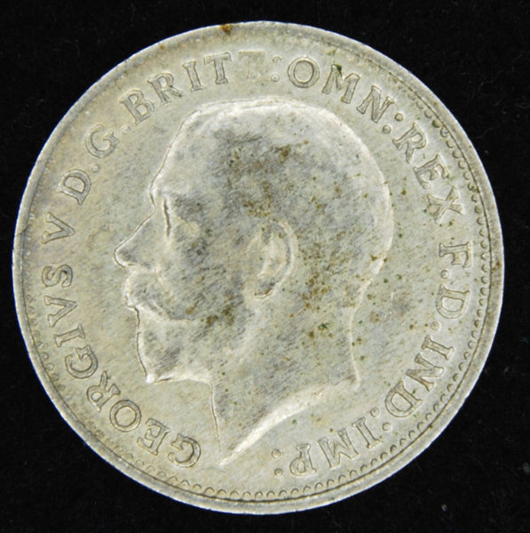 George V. Threepence. 1920.