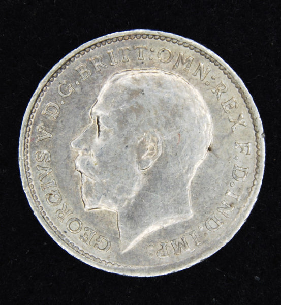George V. Threepence. 1913