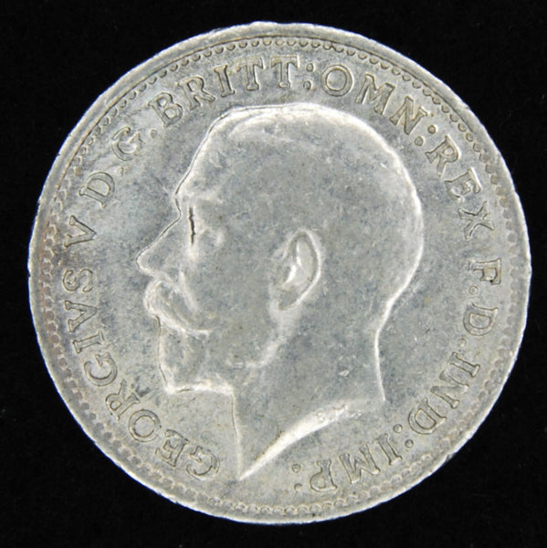 George V. Threepence. 1916.