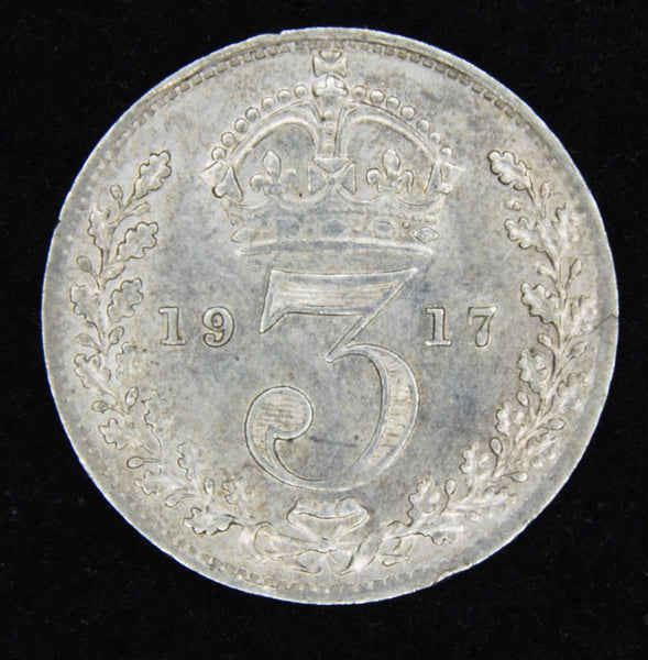 George V. Threepence. 1917.