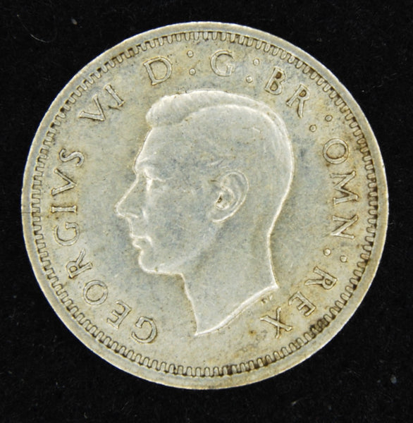 George VI. Threepence. 1940.