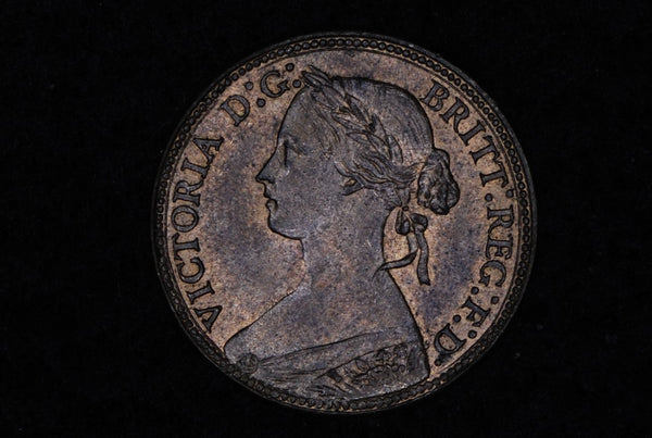 Victoria. Farthing. 1860.