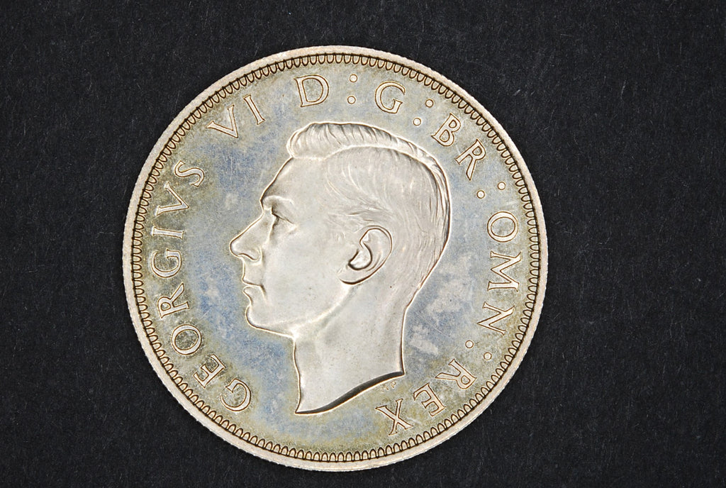 George VI. Proof halfcrown. 1937.
