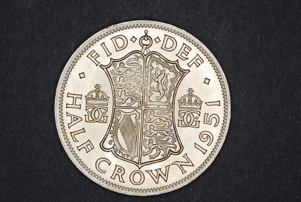 George VI. Halfcrown. 1951.