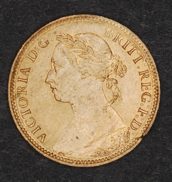 Victoria. Farthing. 1890.