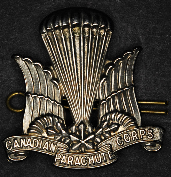 Canadian Parachute Corps cap badge