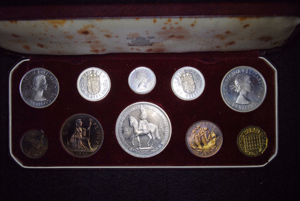 Elizabeth II. GB Proof set. 1953.