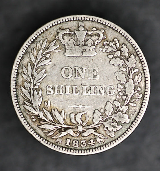 William IV. Shilling. 1834.