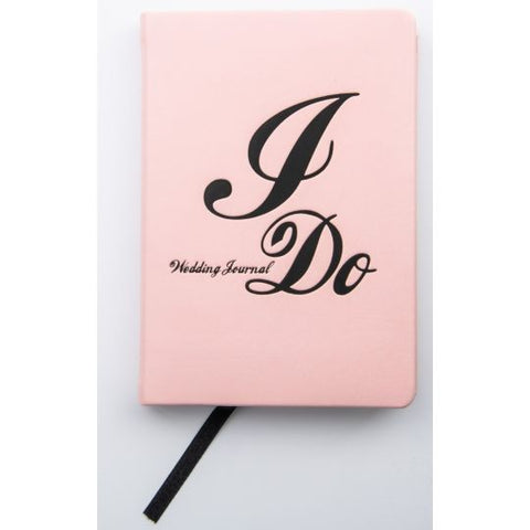 I DO' A6 WEDDING JOURNAL - PINK PU