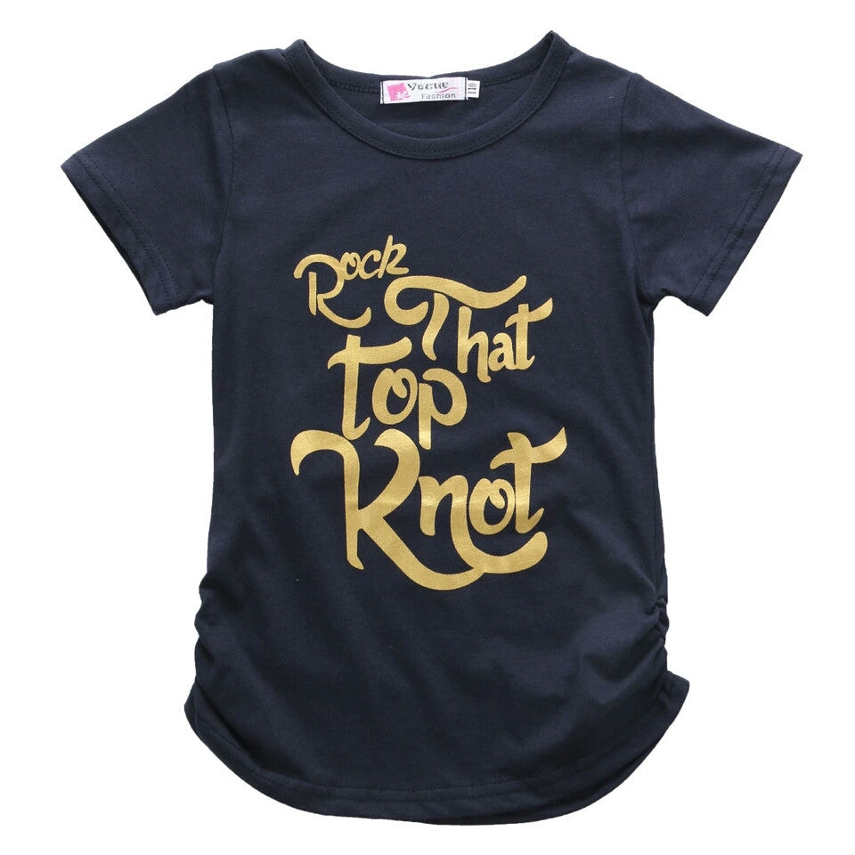 'Rock That Top Knot' Tee