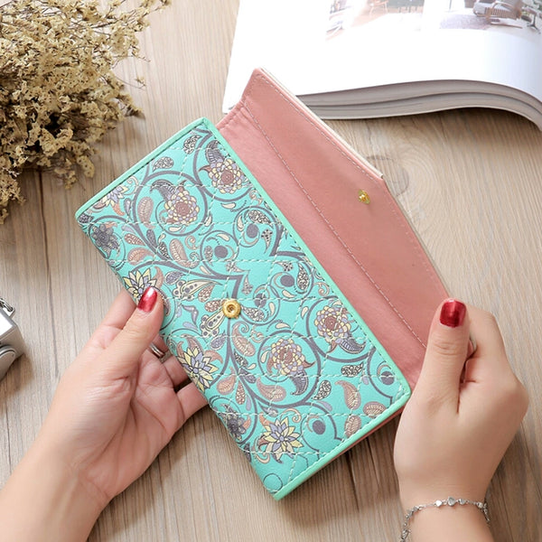 Vintage Floral Clutch Purse (5 Colours)