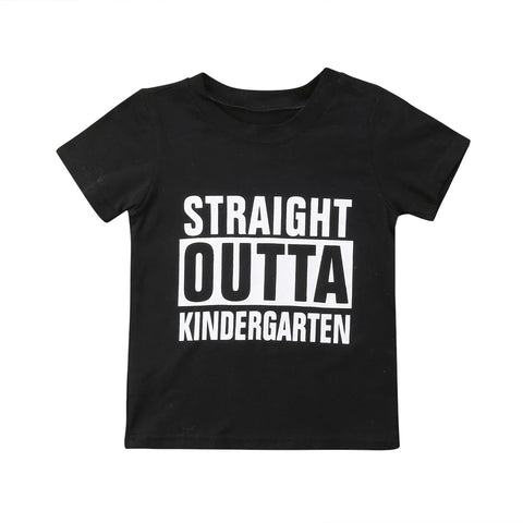 Straight Outta Kindergarten Tee