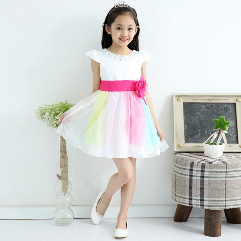 Rainbow Party Dress (2 Designs)