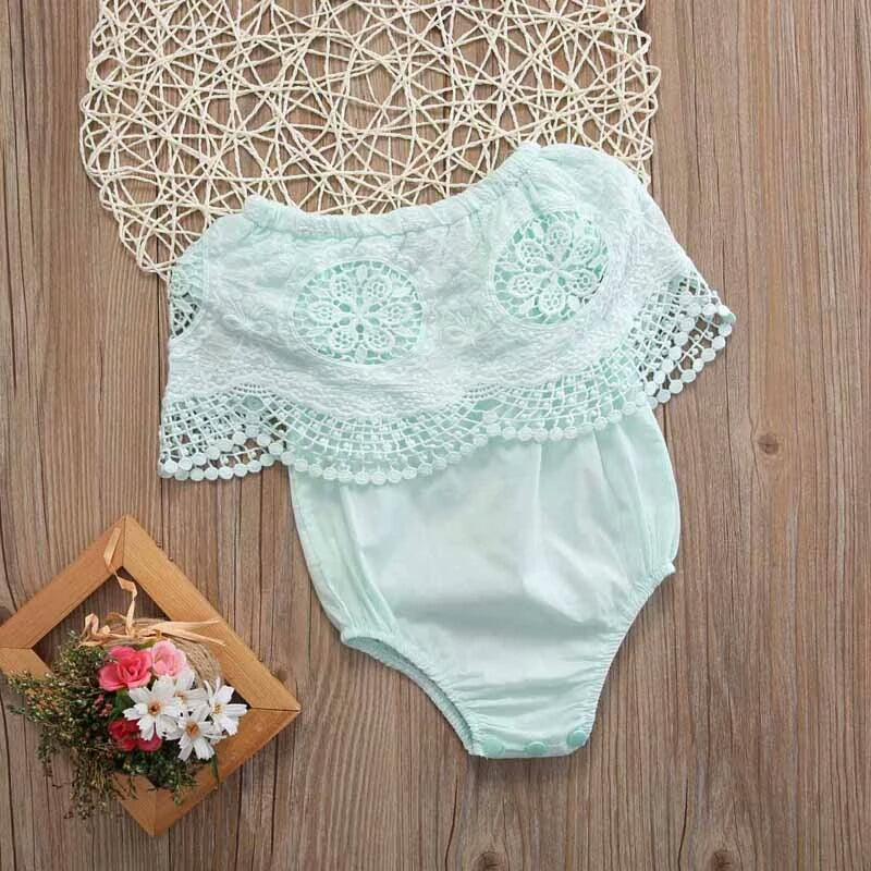 Isabella Romper (Light Green)