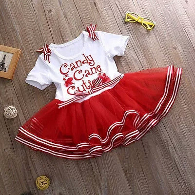 'Candy Cane Cutie' Xmas Dress