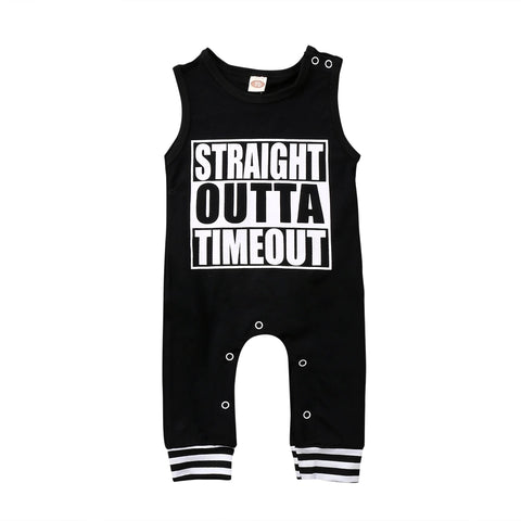 Straight Outta Timeout Jumpsuit